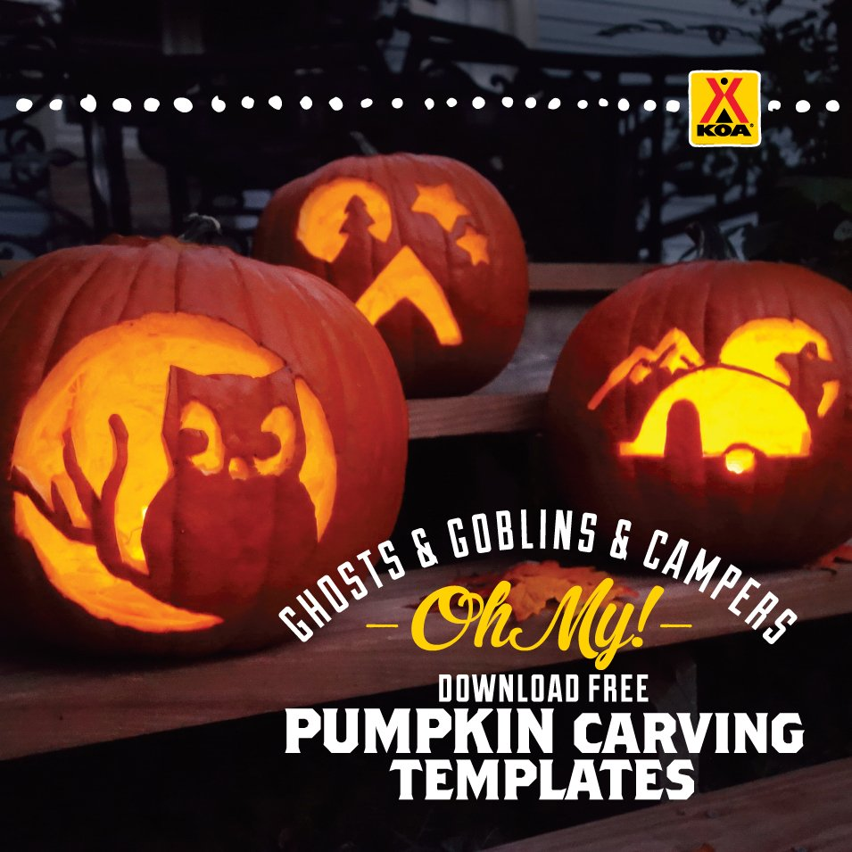 KOA Pumpkin Carving for social media